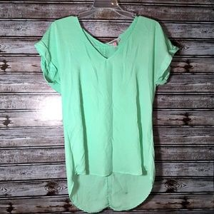 ⭐Candie's Size Small Mint Green Women's Blouse ⭐